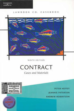 Cover of Contract