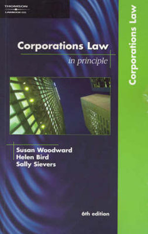 Cover of Corporations Law in Principle