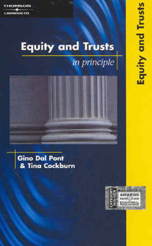 Cover of Equity and Trusts in Principle