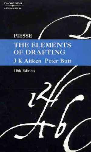 Cover of The Elements of Drafting