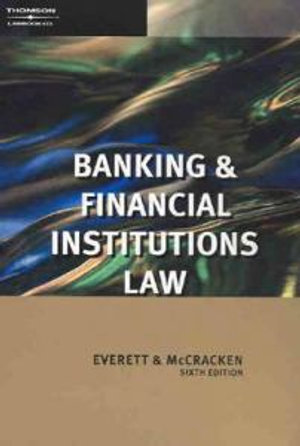 Cover of Banking and Financial Institutions Law