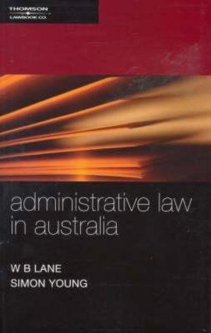 Cover of Administrative law in Australia