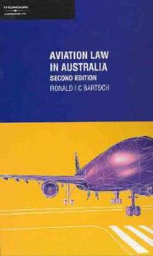Cover of Aviation Law in Australia