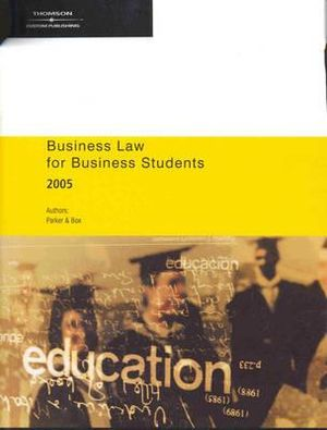Cover of Business Law for Business Students 2005
