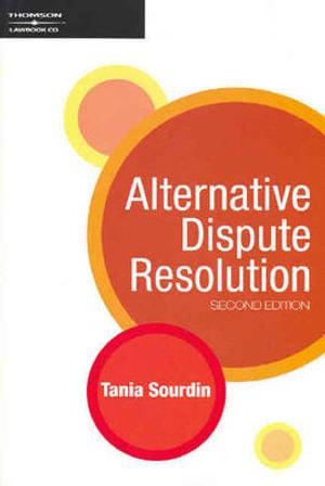 Cover of Alternative Dispute Resolution