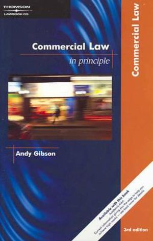 Cover of Commercial Law in Principle