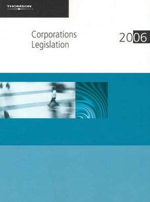 Cover of Corporations Legislation 2006