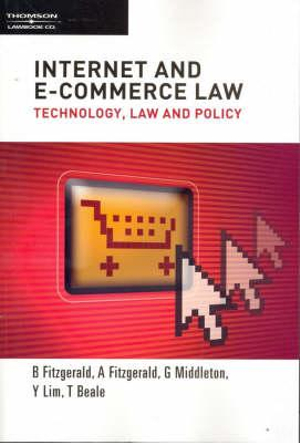 Cover of Internet and E-commerce Law