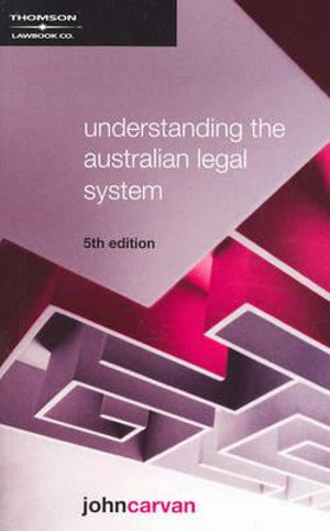 Cover of Understanding the Australian Legal System