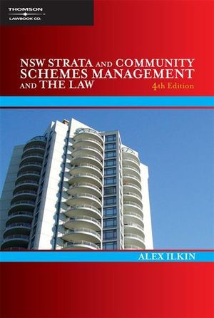 Cover of New South Wales Strata and Community Schemes Management and the Law