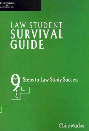 Cover of The Law Student Survival Guide