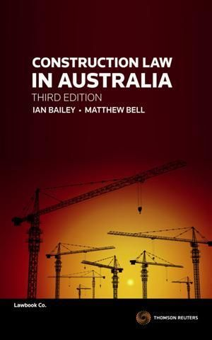 Cover of Construction Law in Australia