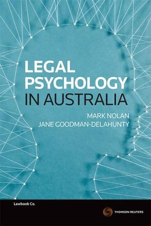 Cover of Psychology and The Law 1e