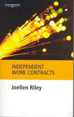 Cover of Independent Work Contracts