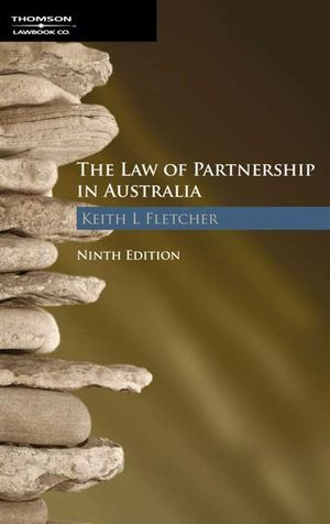 Cover of The Law of Partnership in Australia