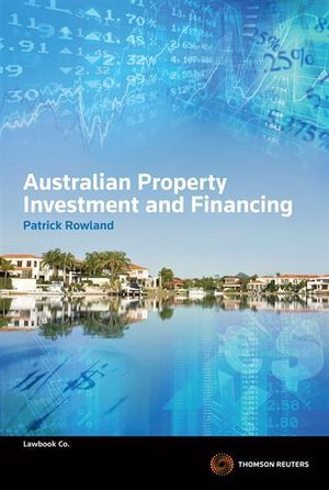 Cover of Australian Property Investment and Financing
