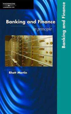 Cover of Banking and Finance