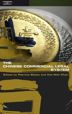 Cover of Chinese Commercial Law and Legal System