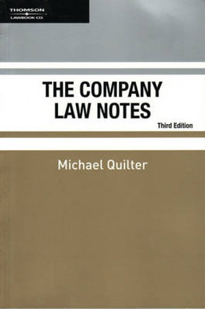 Cover of The Company Law Notes