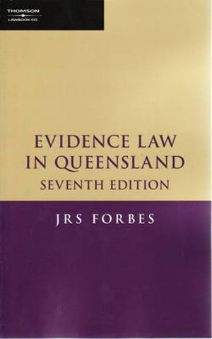 Cover of Evidence Law in Queensland