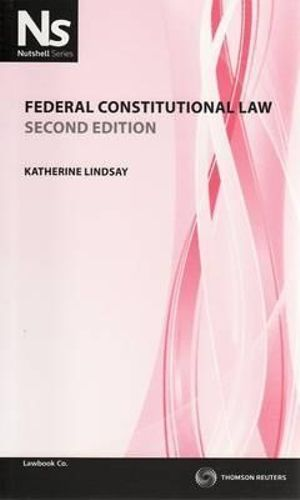 Cover of Federal Constitutional Law