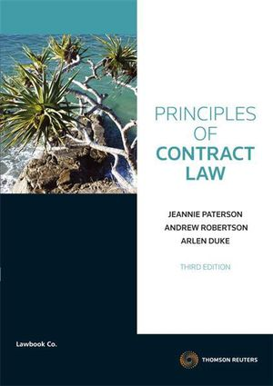 Cover of Principles of Contract Law