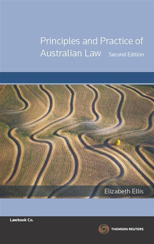 Cover of Principles and Practice of Australian Law