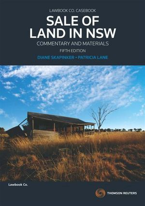Cover of Sale of Land in New South Wales