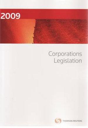 Cover of Corporations Legislation 2009