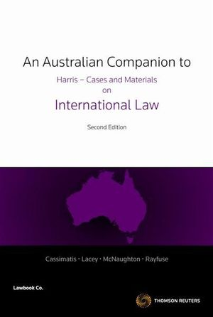 Cover of An Australian Companion to Harris