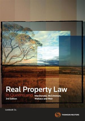 Cover of Real Property Law in Queensland