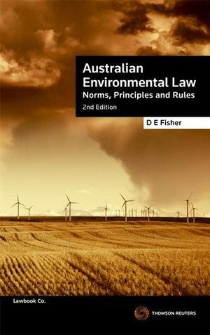 Cover of Australian Environmental Law