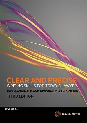 Cover of Clear and Precise
