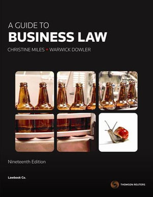 Cover of A Guide to Business Law