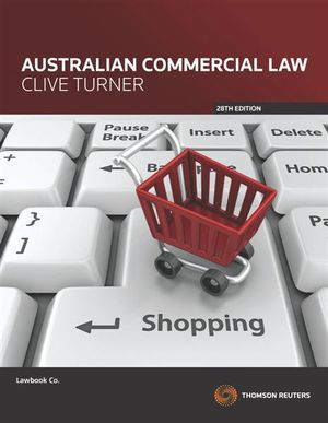 Cover of Australian Commercial Law