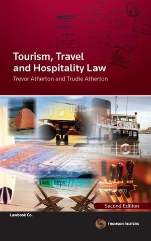 Cover of Tourism, Travel and Hospitality Law