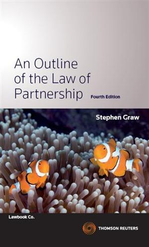 Cover of An Outline of the Law of Partnership