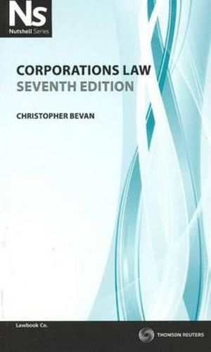 Cover of Corporations Law