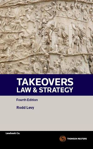 Cover of Takeovers Law and Strategy
