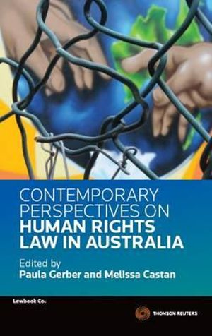 Cover of Contemporary Perspectives on Human Rights Law in Australia