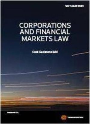 Cover of Corporations and Financial Markets Law