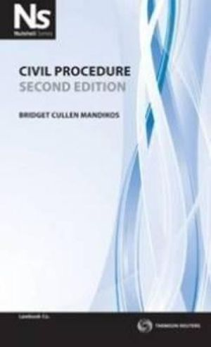 Cover of Civil Procedure