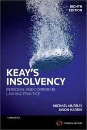 Cover of Keay's Insolvency