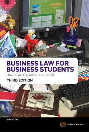 Cover of Business Law for Business Students