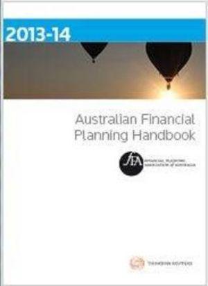 Cover of Australian Financial Planning Handbook 2013-14