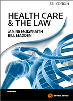 Cover of Health Care & the Law