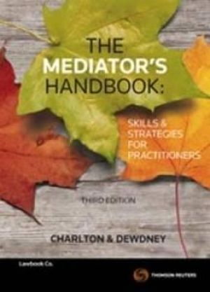 Cover of The Mediator's Handbook
