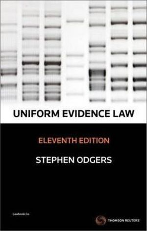 Cover of Uniform Evidence Law