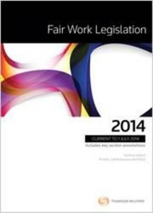 Cover of Fair Work Legislation 2014