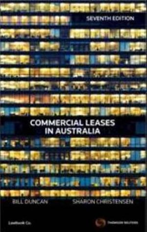 Cover of Commercial Leases in Australia